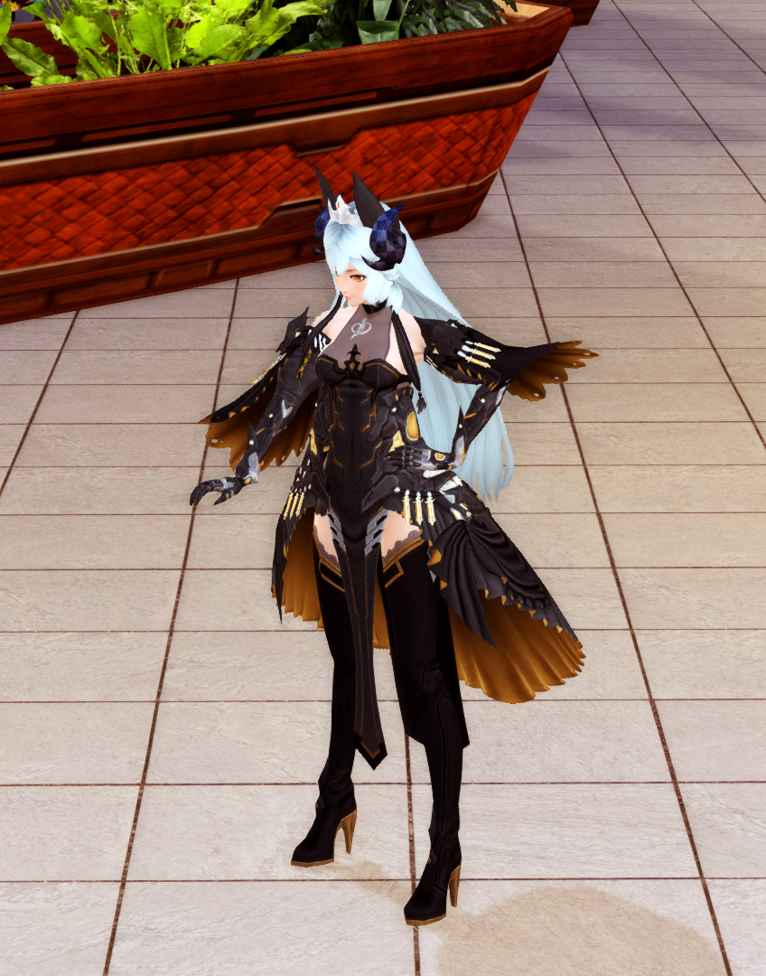 PSO2 Fashion AC Scratch Zooey Amalti Ephitina Hair