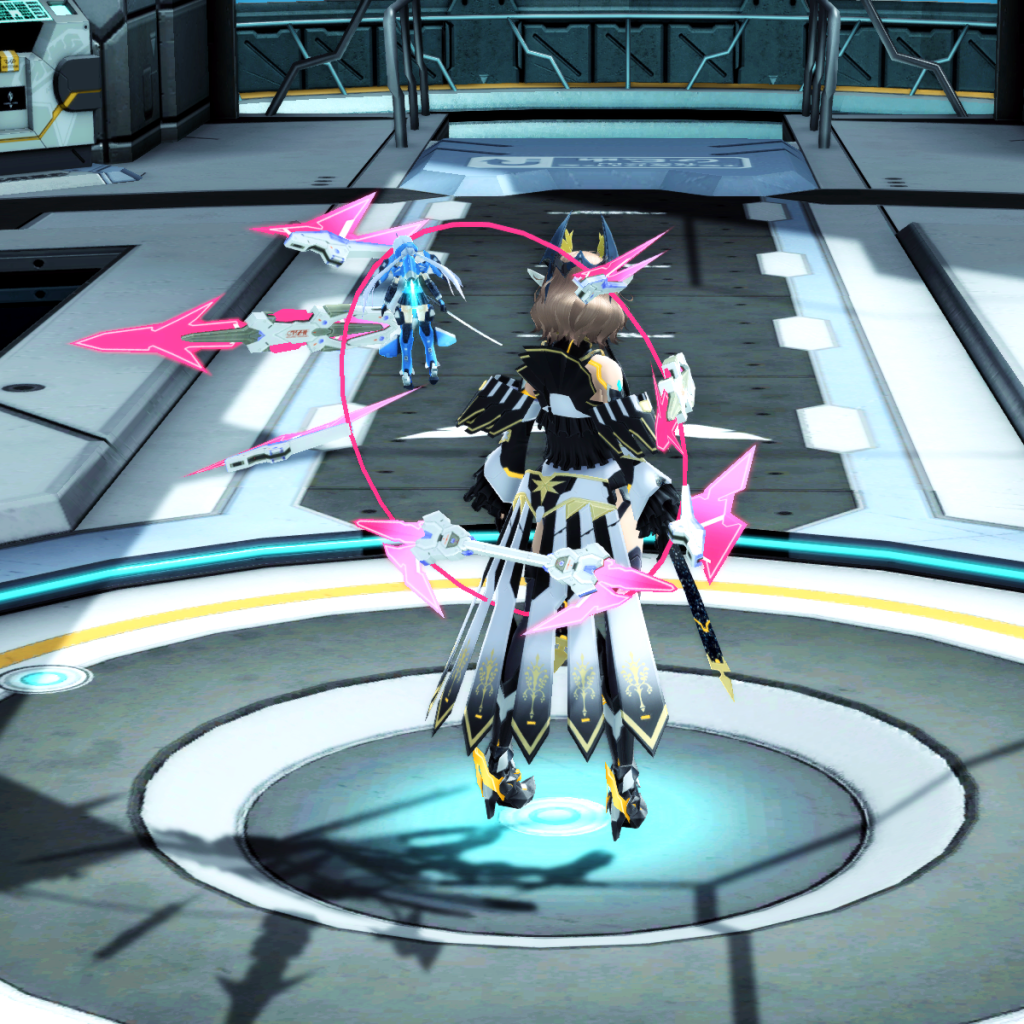 PSO2 Randall Nova Double Saber WEapon Camo