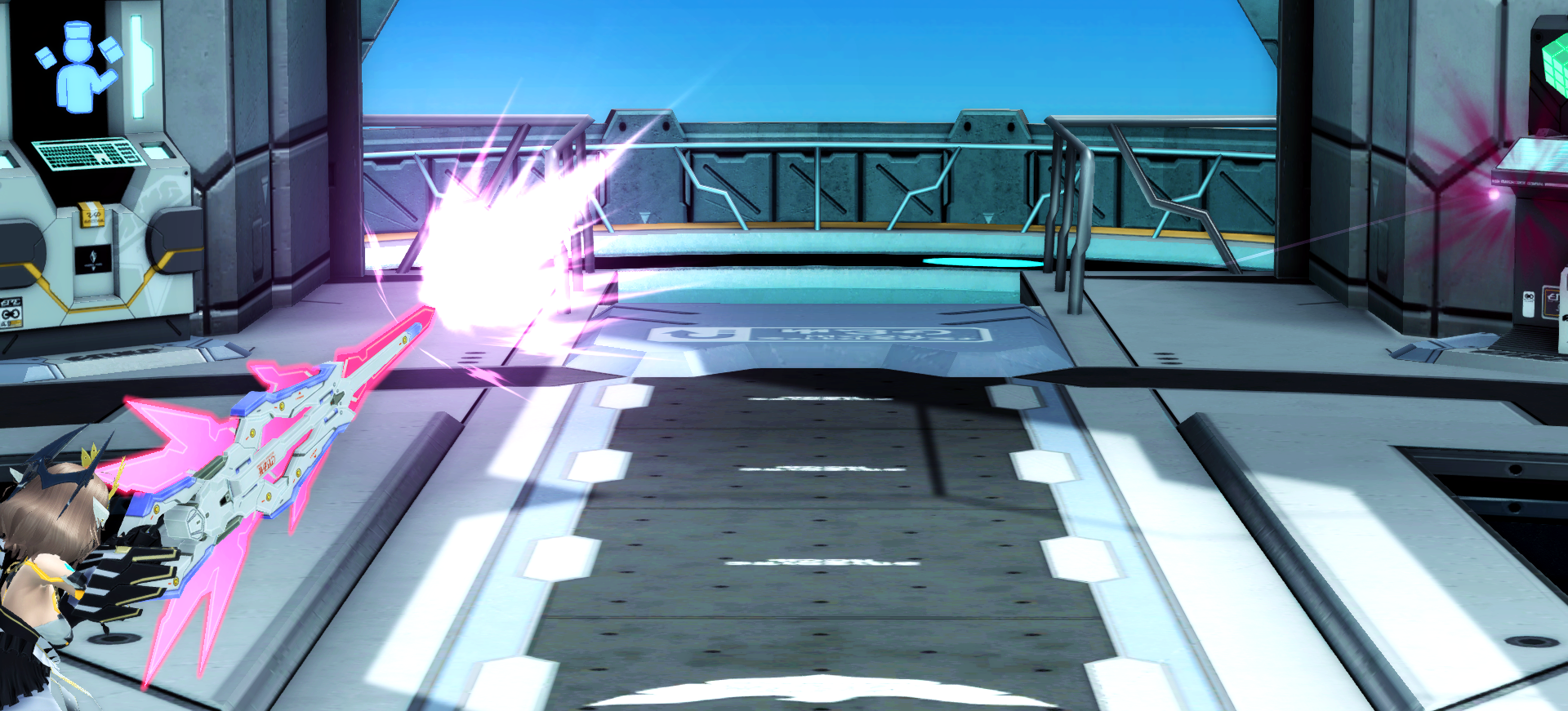 PSO2 Randall Nova Weapon Camo
