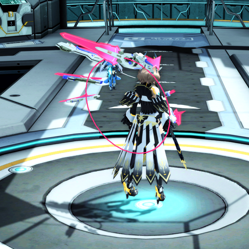 PSO2 Randall Nova Rifle Weapon Camo