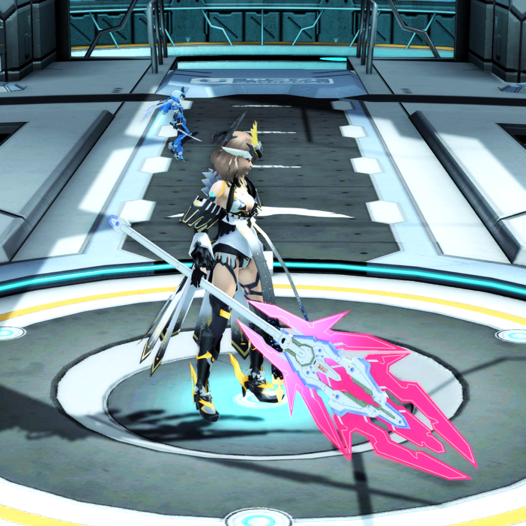 PSO2 Randall Nova Rod Weapon Camo