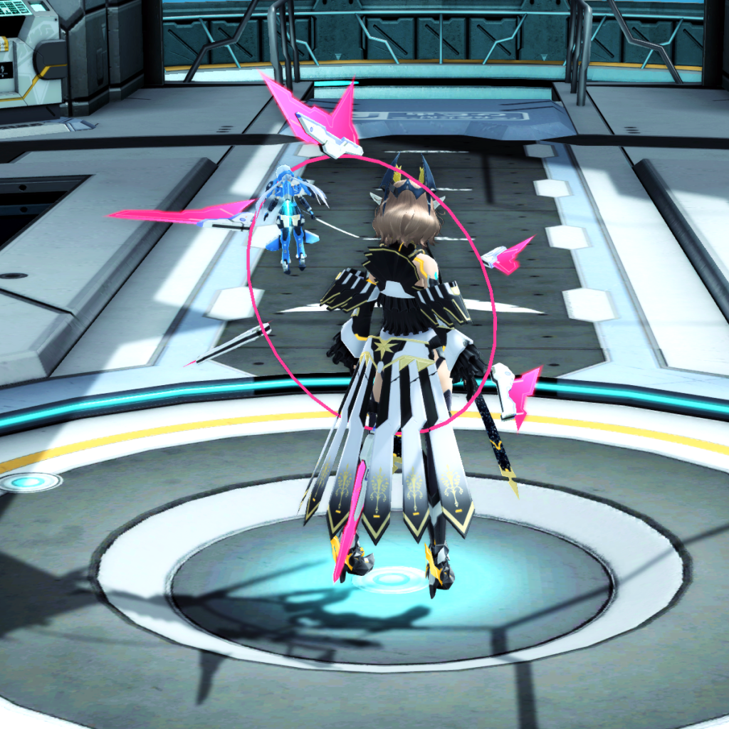 PSO2 Randall Nova Wand Weapon Camo