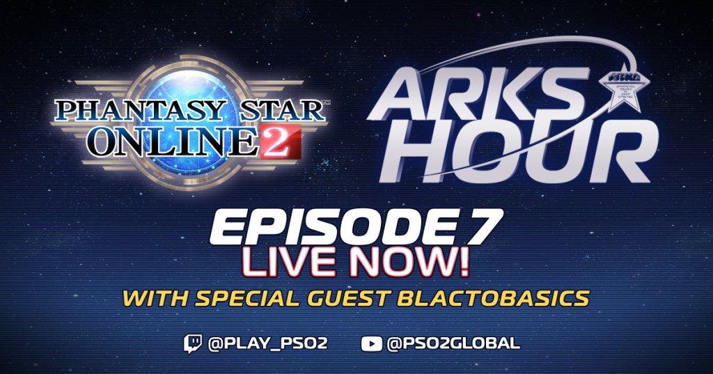 PSO2 Phantasy Star Online 2 MMORPG Sega Episode 7 Arks Hour