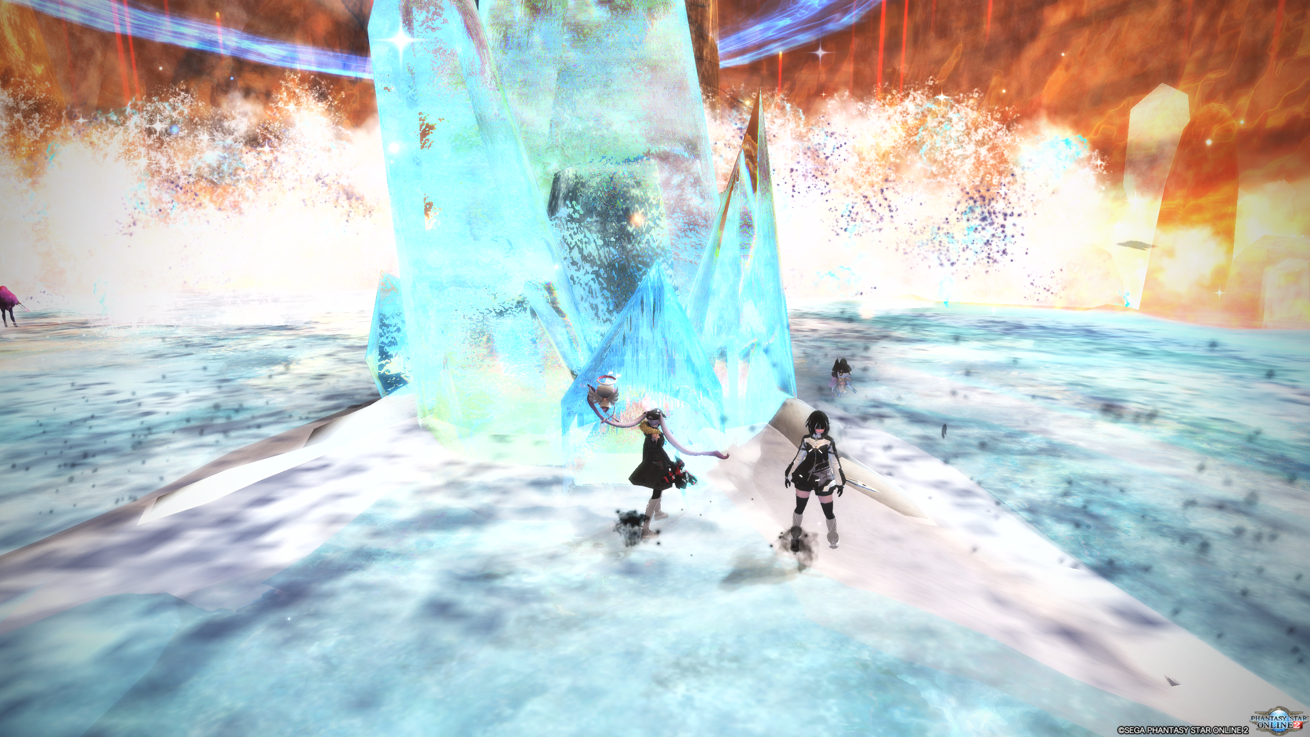 Phantasy Star Online 2 The Face of the Abyss