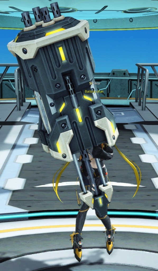 PSO2 Phantasy Star Online 2 MMORPG Sega Graf Tische Weapon Camo