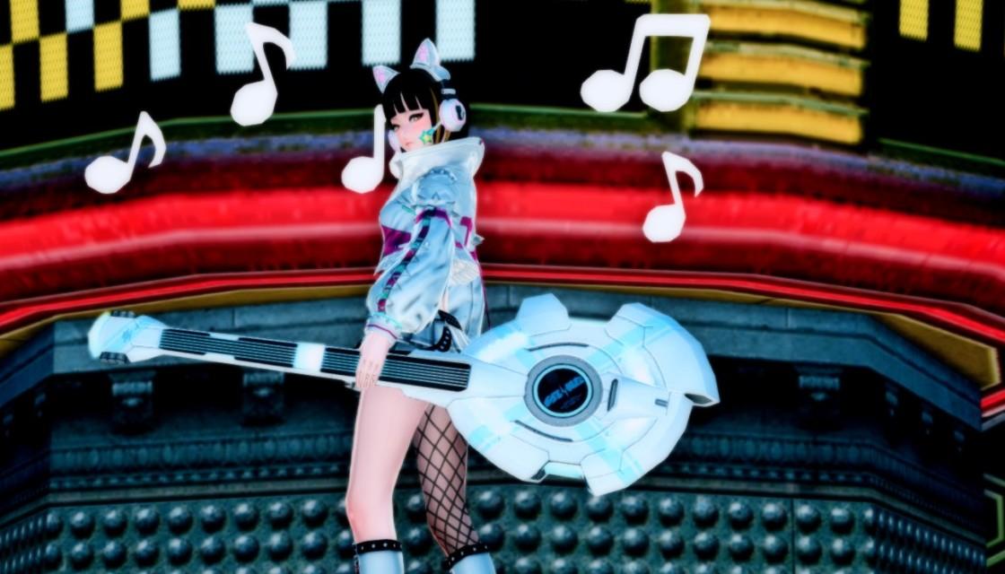 PSO2 Phantasy Star Online 2 MMORPG Sega Concert Master Weapon Camo