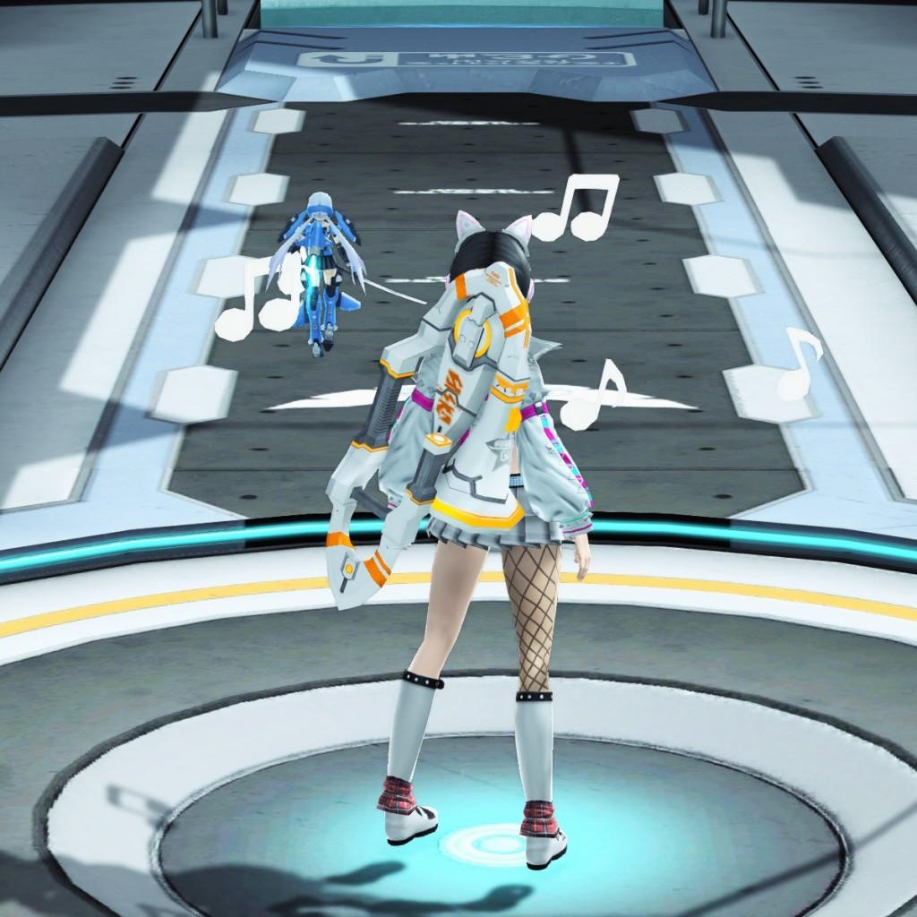 PSO2 Phantasy Star Online 2 MMORPG Sega Concert Master Weapon Camo Double Saber