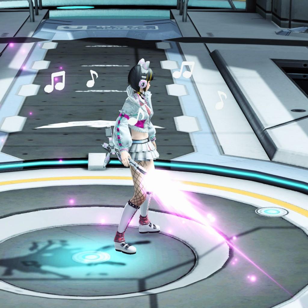PSO2 Phantasy Star Online 2 MMORPG Sega Concert Master Weapon Camo Gunblade