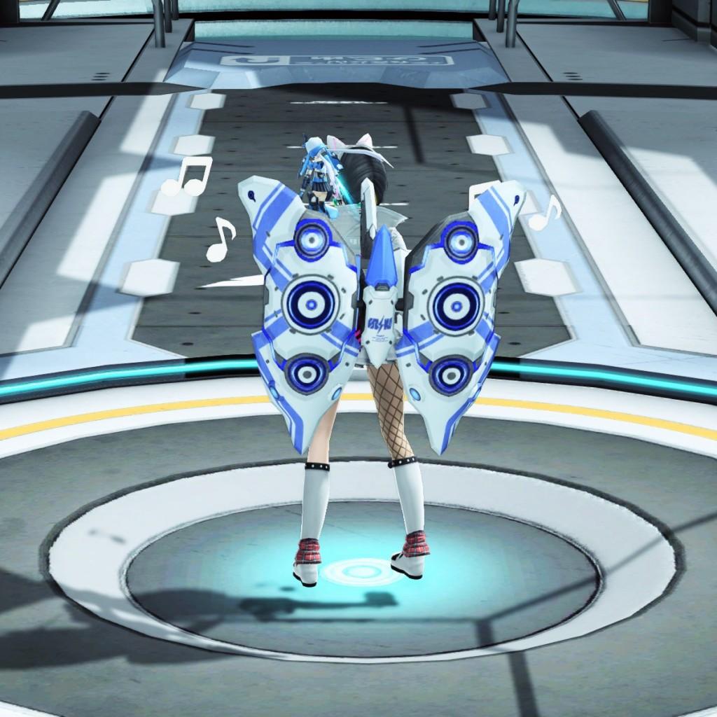 PSO2 Phantasy Star Online 2 MMORPG Sega Concert Master Weapon Camo Launcher