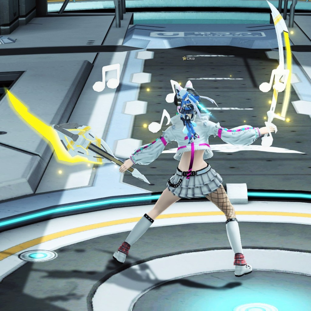 PSO2 Phantasy Star Online 2 MMORPG Sega Concert Master Weapon Camo Soaring Blades
