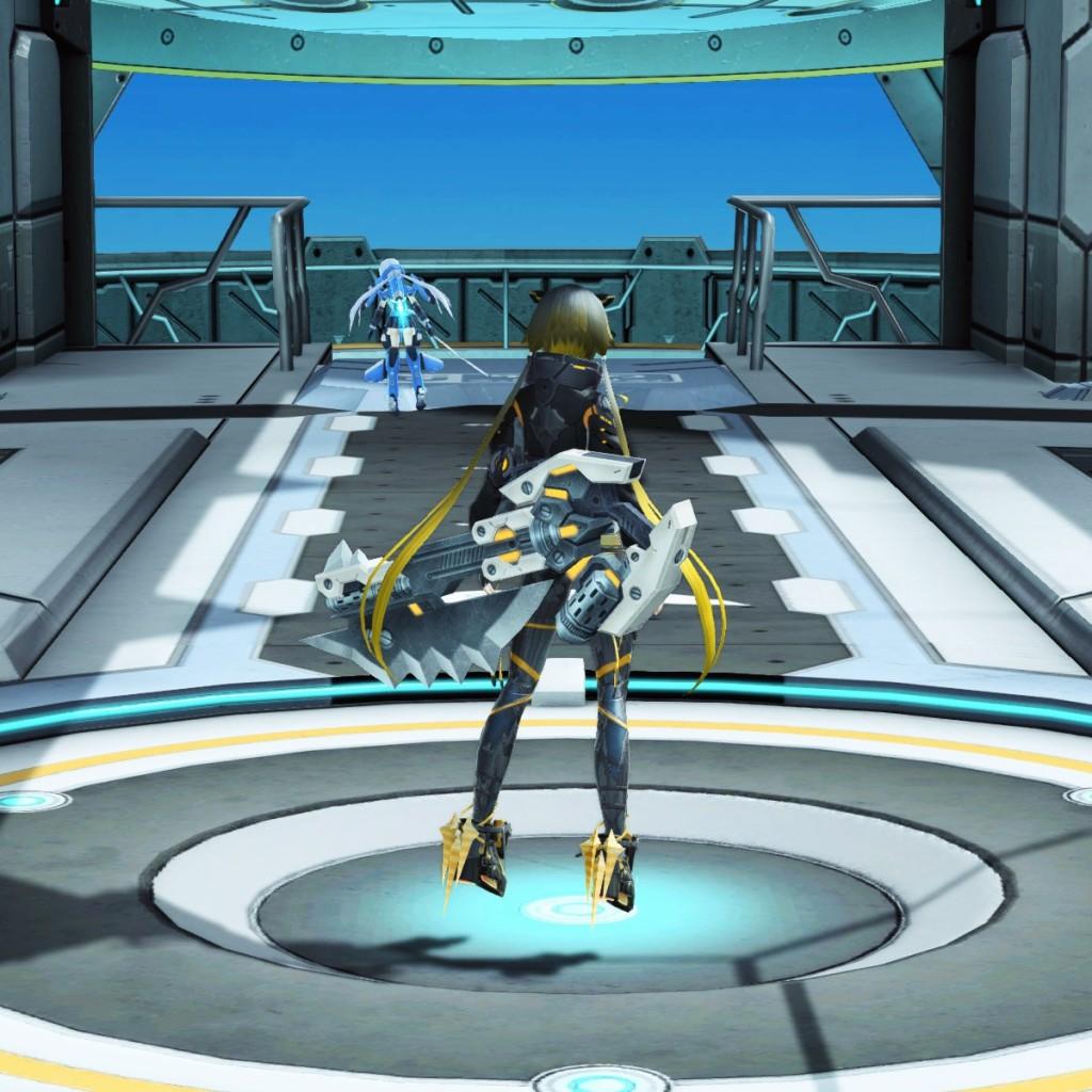PSO2 Phantasy Star Online 2 MMORPG Sega Graf Tische Weapon Camo Gunblade