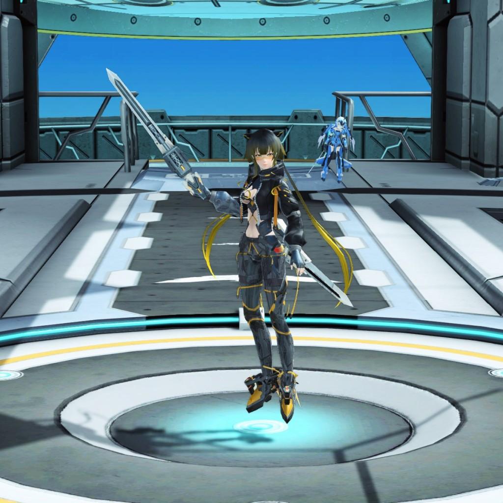 PSO2 Phantasy Star Online 2 MMORPG Sega Graf Tische Weapon Camo Harmonizer