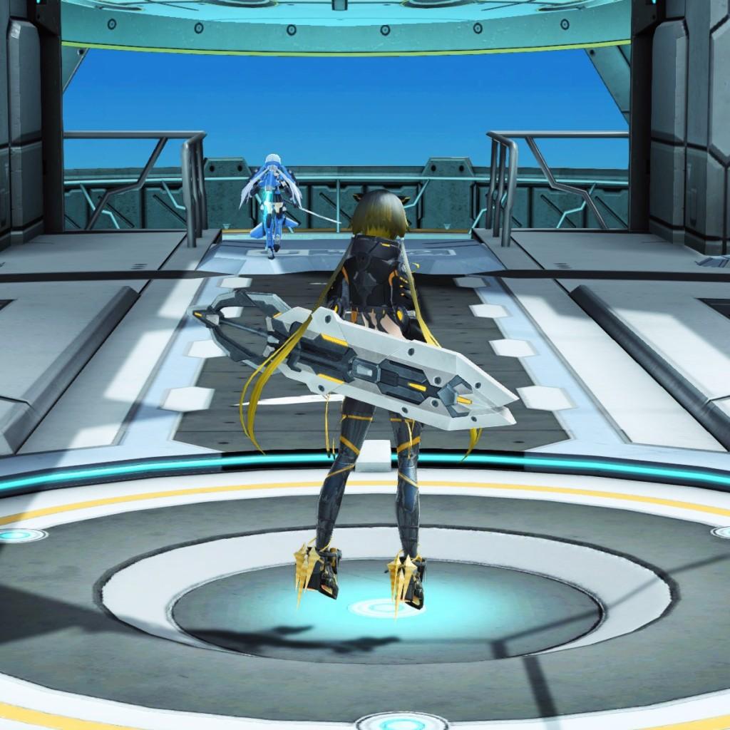 PSO2 Phantasy Star Online 2 MMORPG Sega Graf Tische Weapon Camo Katana