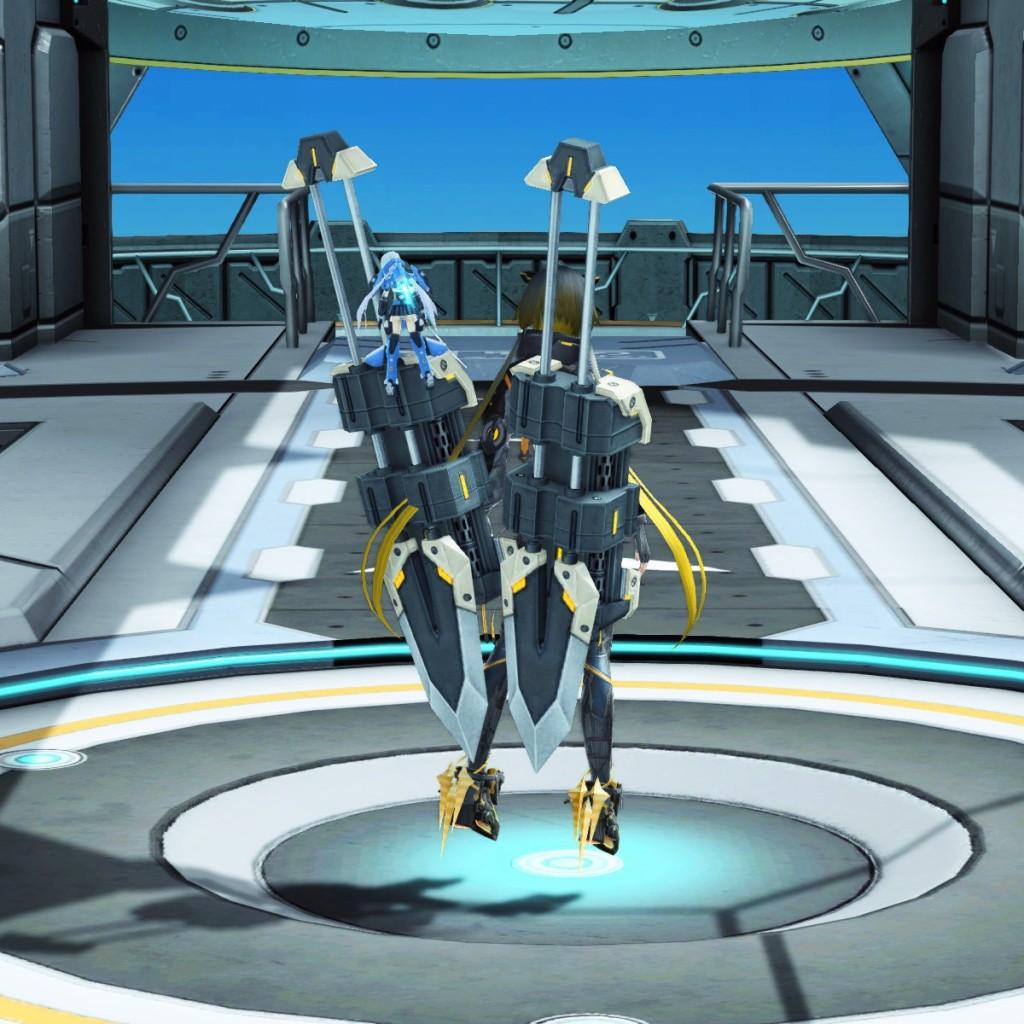 PSO2 Phantasy Star Online 2 MMORPG Sega Graf Tische Weapon Camo Knuckles