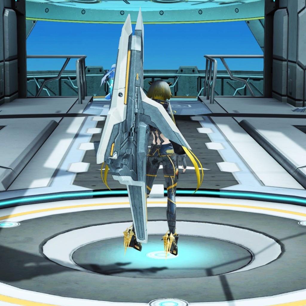 PSO2 Phantasy Star Online 2 MMORPG Sega Graf Tische Weapon Camo Launcher
