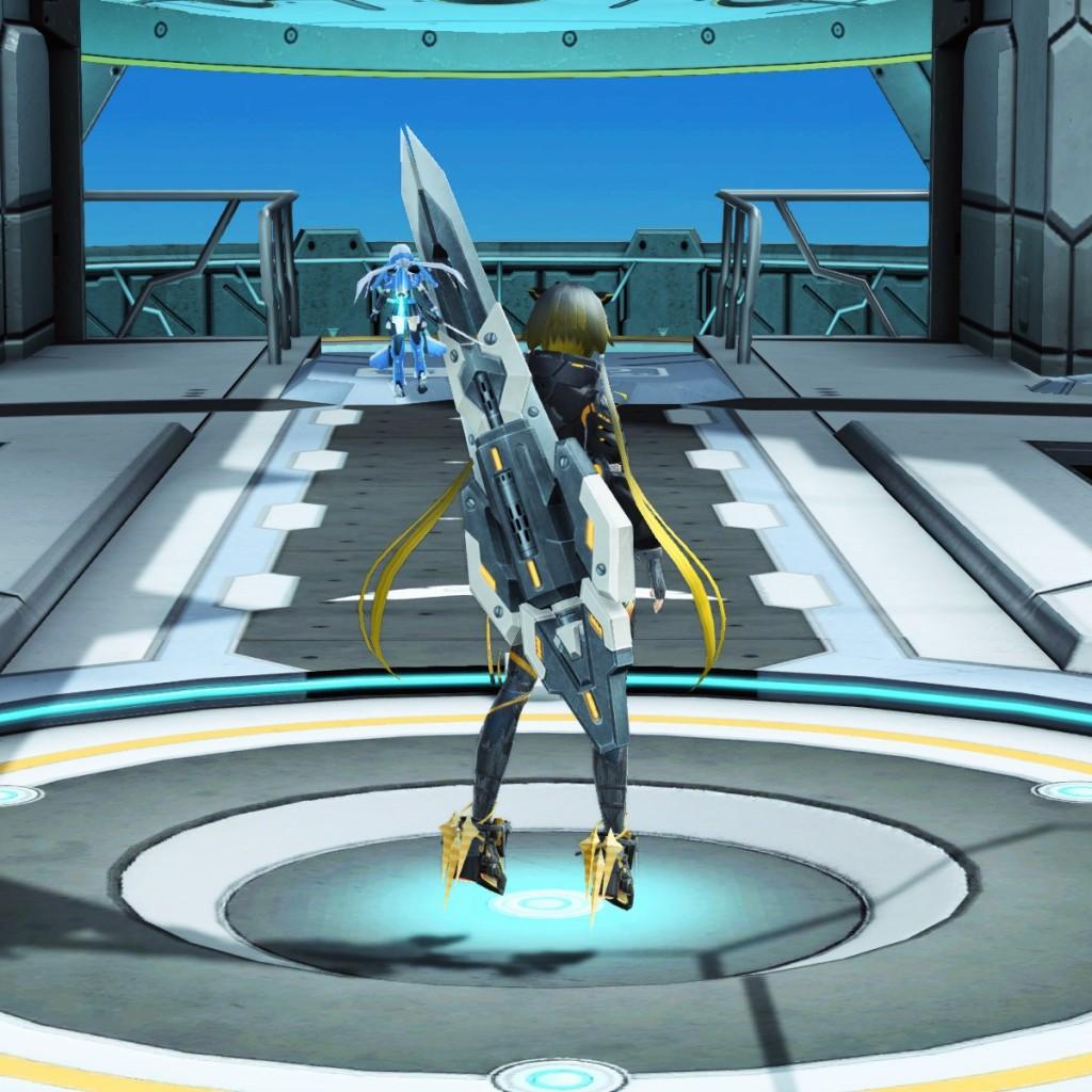 PSO2 Phantasy Star Online 2 MMORPG Sega Graf Tische Weapon Camo Partisan