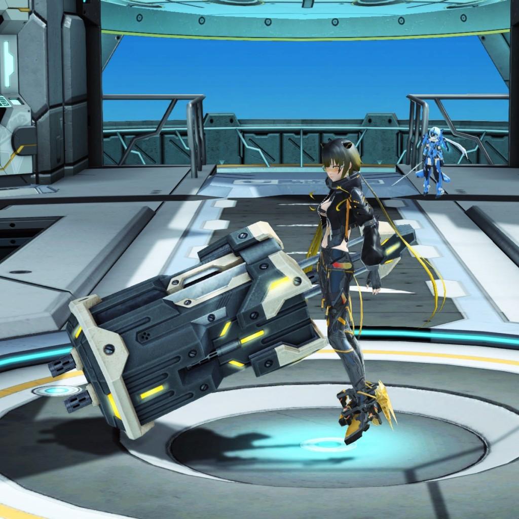 PSO2 Phantasy Star Online 2 MMORPG Sega Graf Tische Weapon Camo Rod