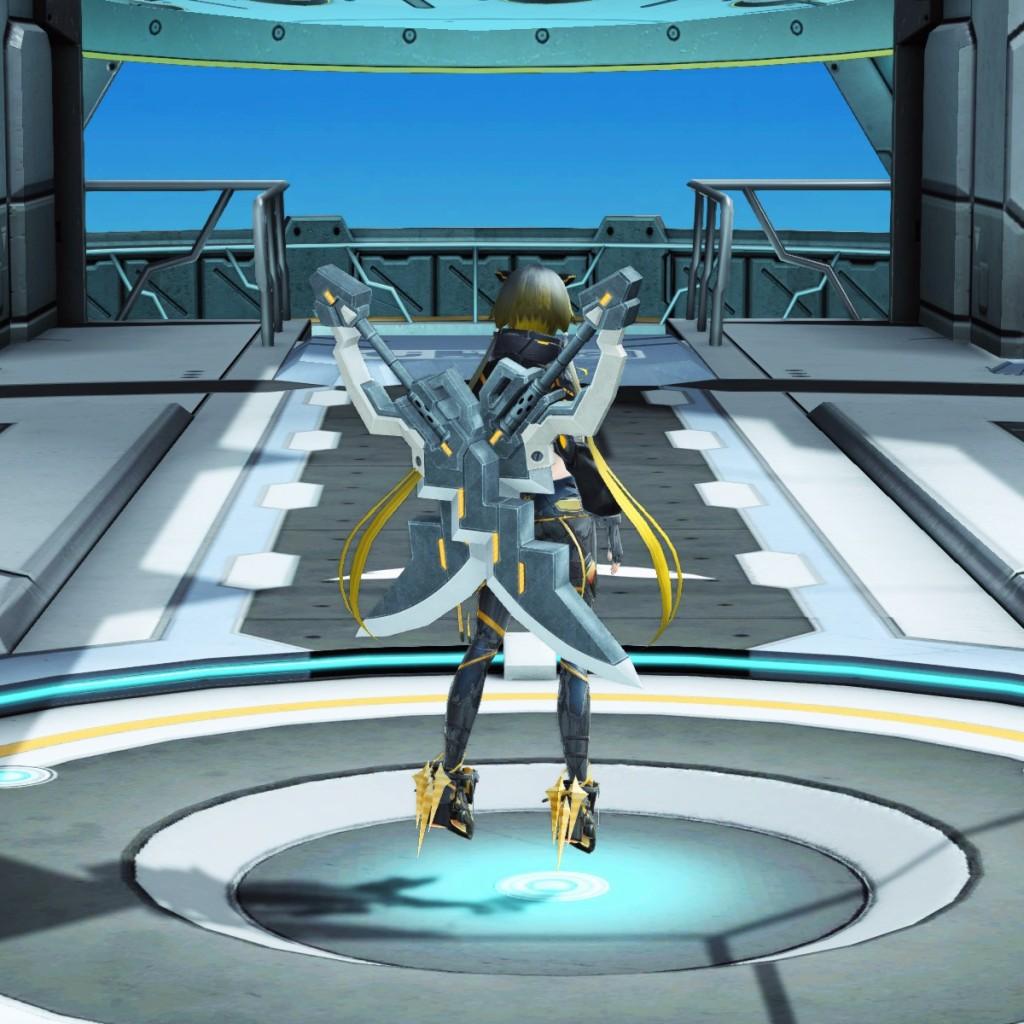 PSO2 Phantasy Star Online 2 MMORPG Sega Graf Tische Weapon Camo Soaring Blades