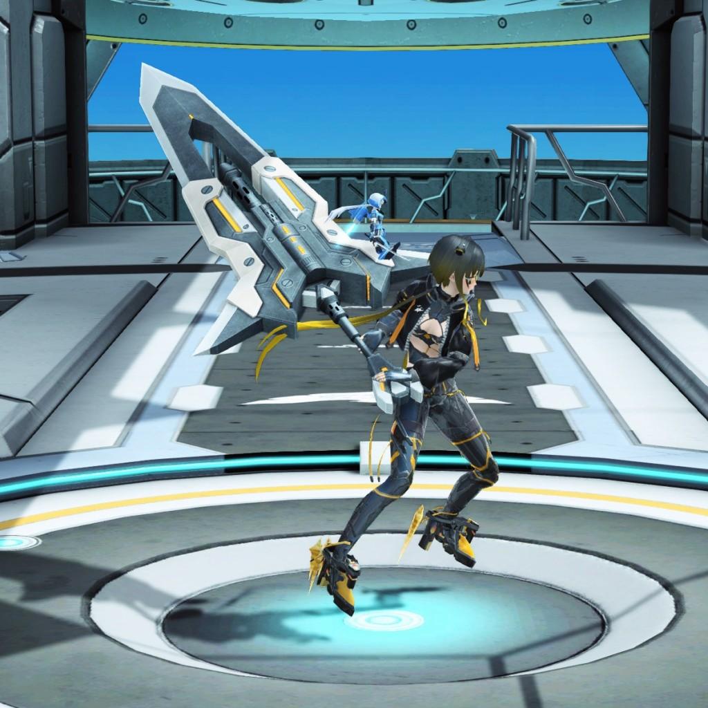 PSO2 Phantasy Star Online 2 MMORPG Sega Graf Tische Weapon Camo Sword