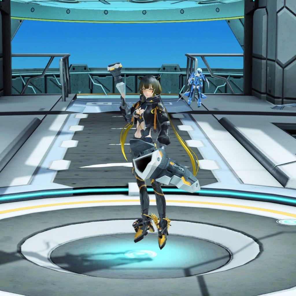 PSO2 Phantasy Star Online 2 MMORPG Sega Graf Tische Weapon Camo Talis