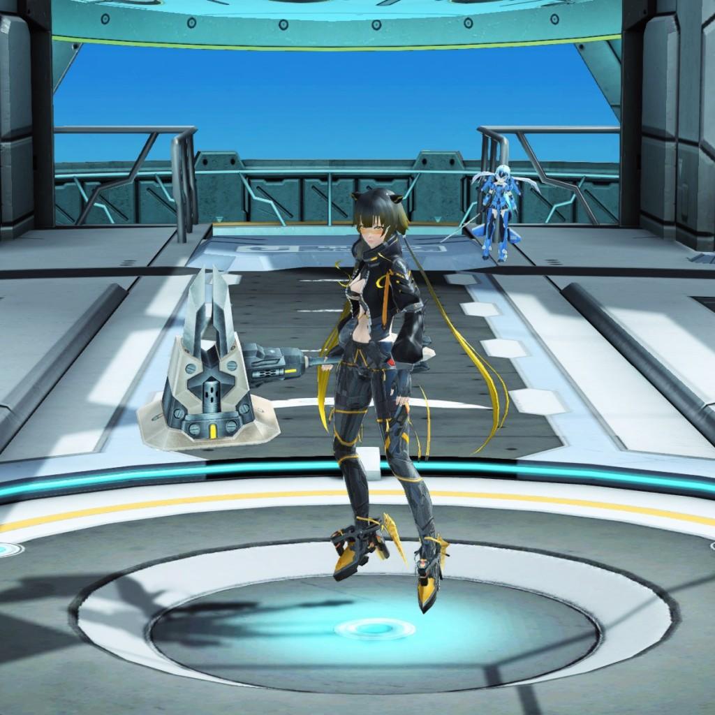 PSO2 Phantasy Star Online 2 MMORPG Sega Graf Tische Weapon Camo Wand