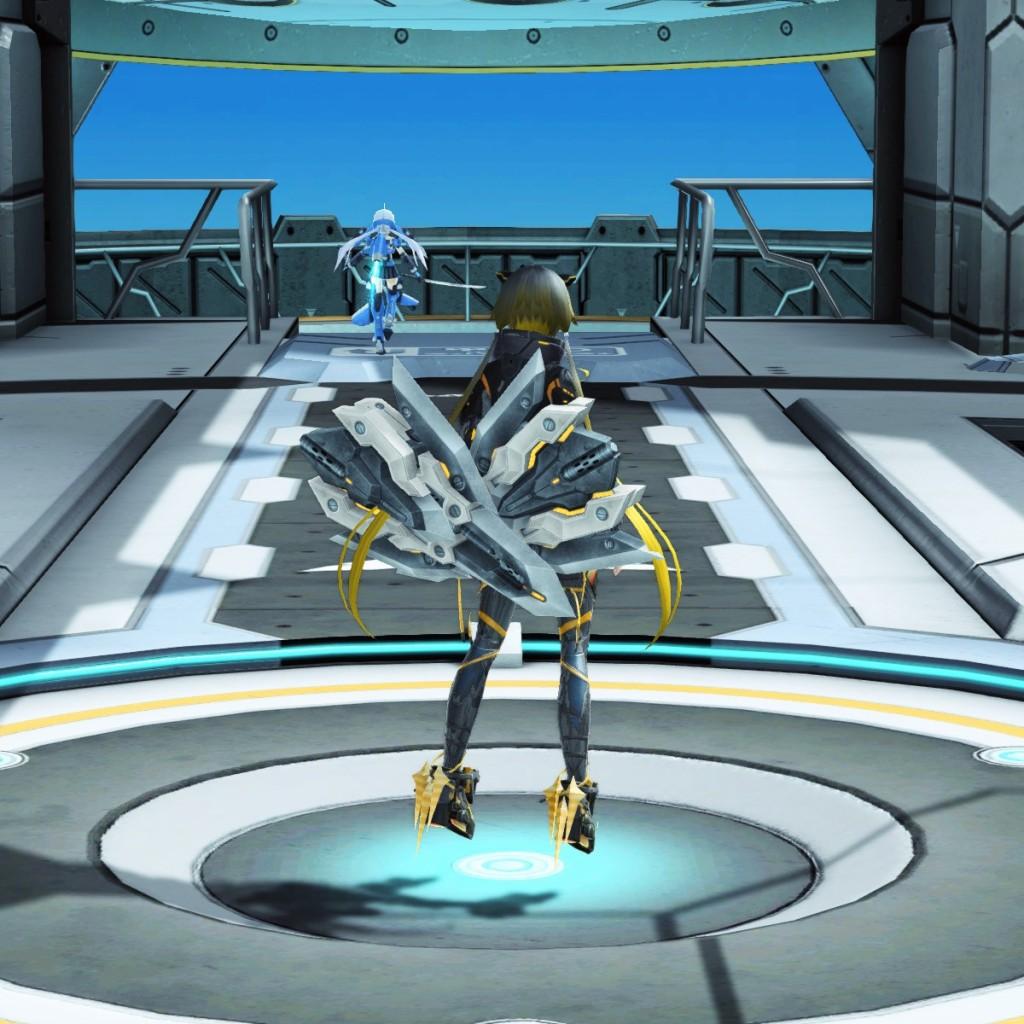 PSO2 Phantasy Star Online 2 MMORPG Sega Graf Tische Weapon Camo Wired Lance