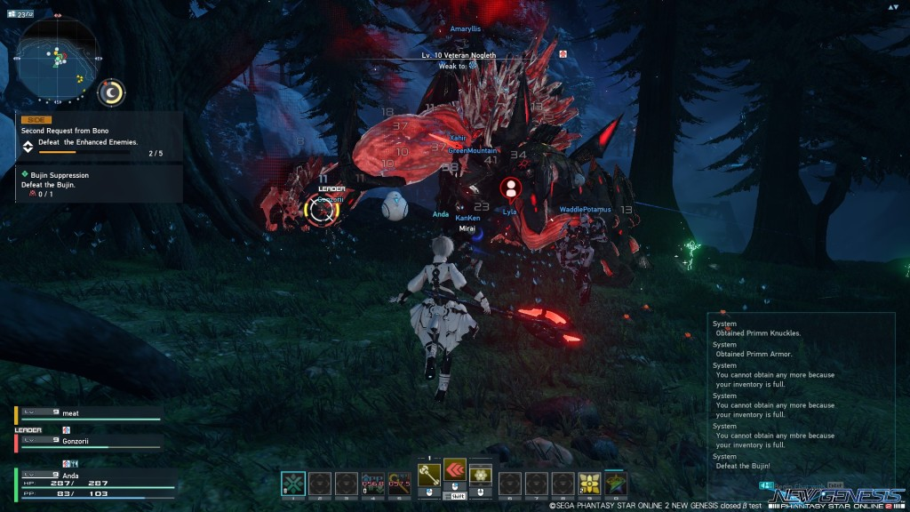 Phantasy Star Online 2 NGS
