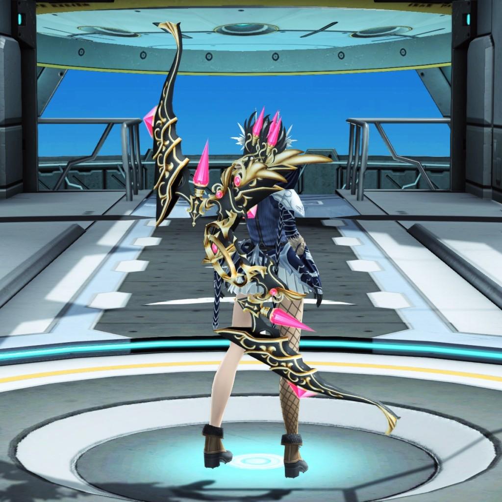 PSO2 Phantasy Star Online 2 MMORPG Sega Atlas Bow