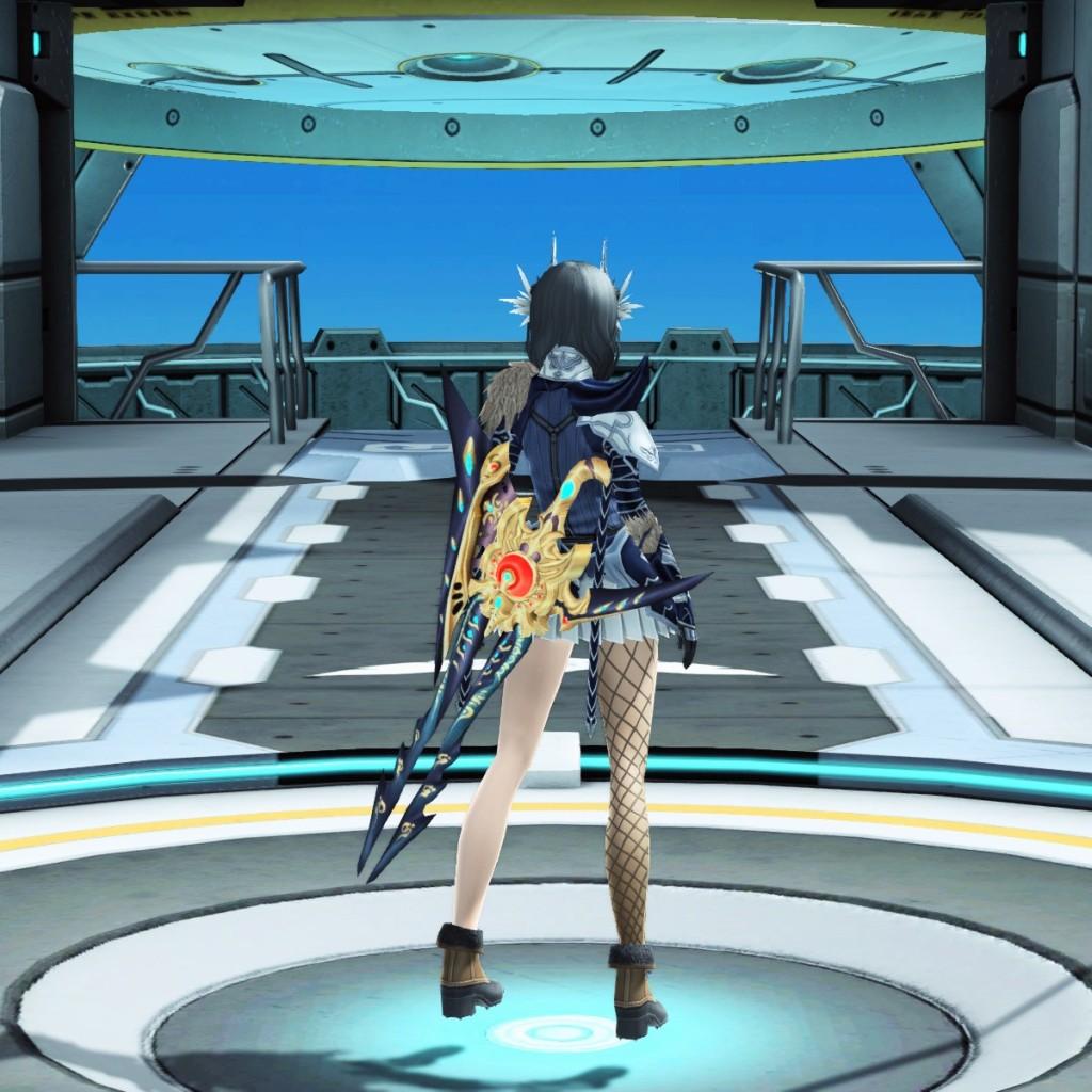 PSO2 Phantasy Star Online 2 MMORPG Sega Atlas Gunblade