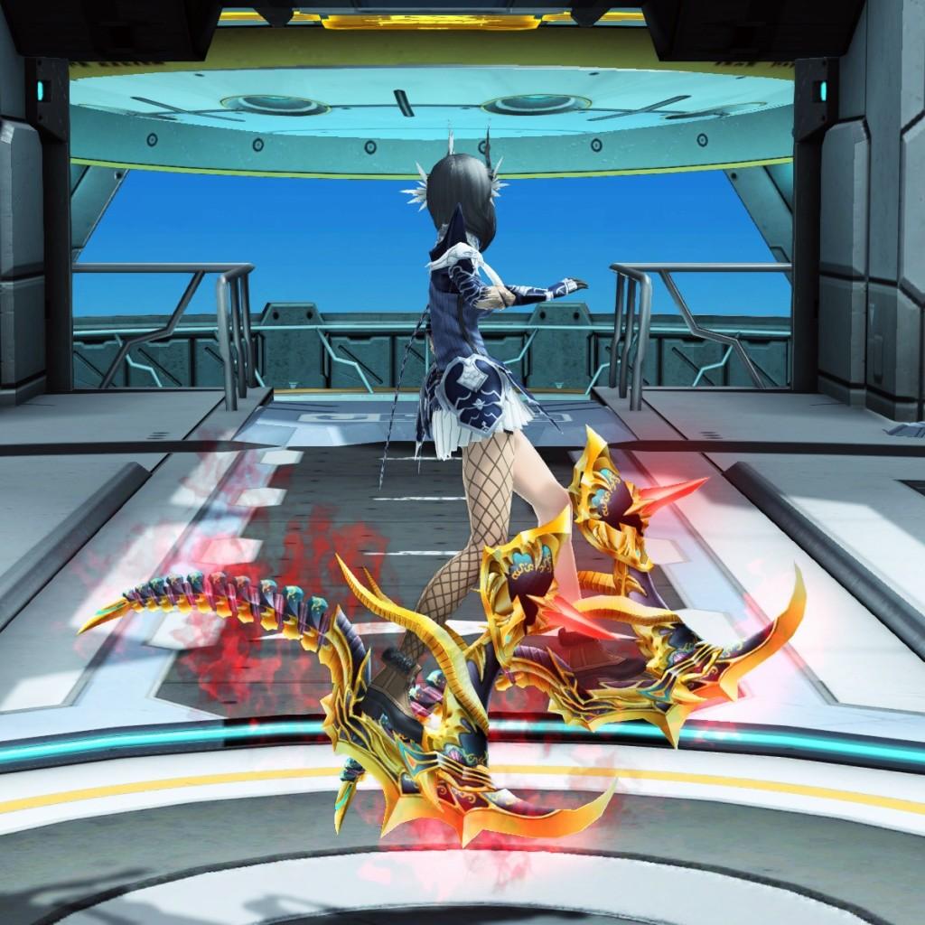 PSO2 Phantasy Star Online 2 MMORPG Sega Atlas Jet Boots