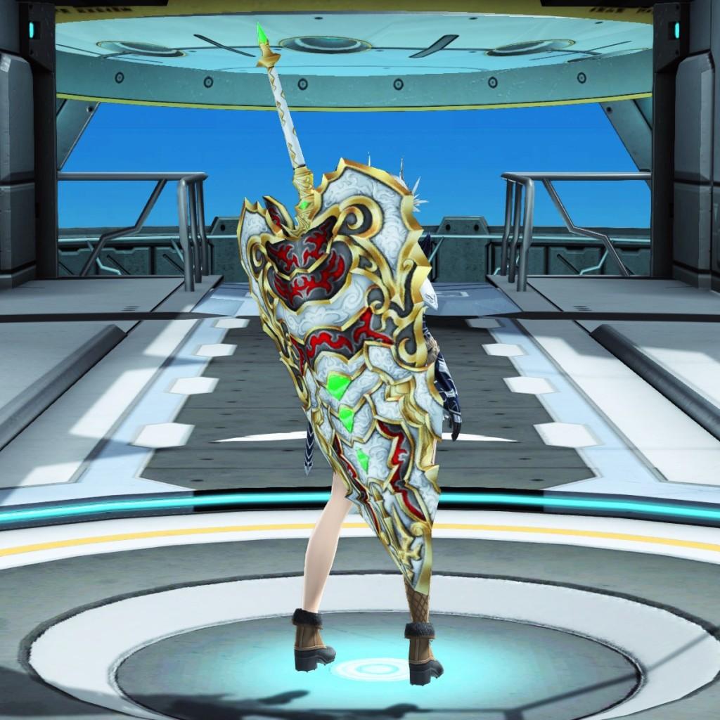 PSO2 Phantasy Star Online 2 MMORPG Sega Atlas Katana