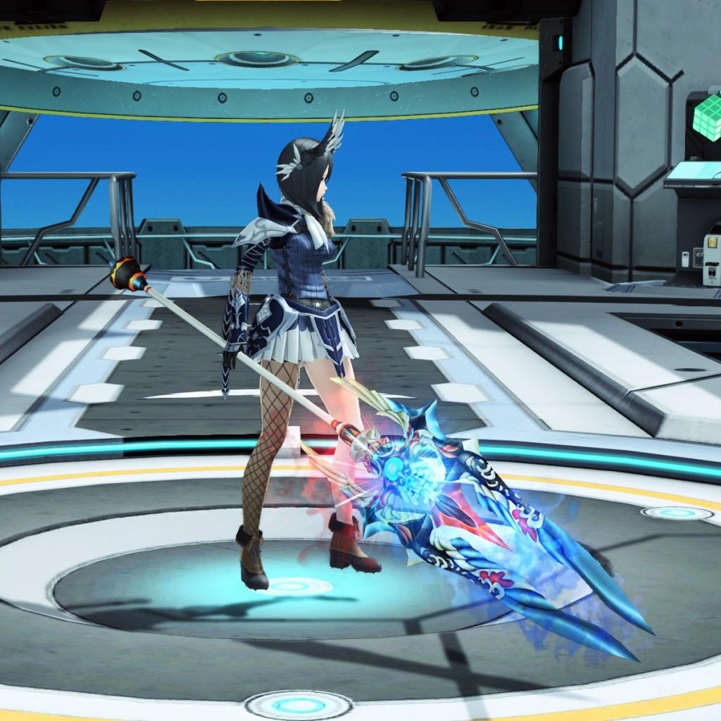 PSO2 Phantasy Star Online 2 MMORPG Sega Atlas Partisan