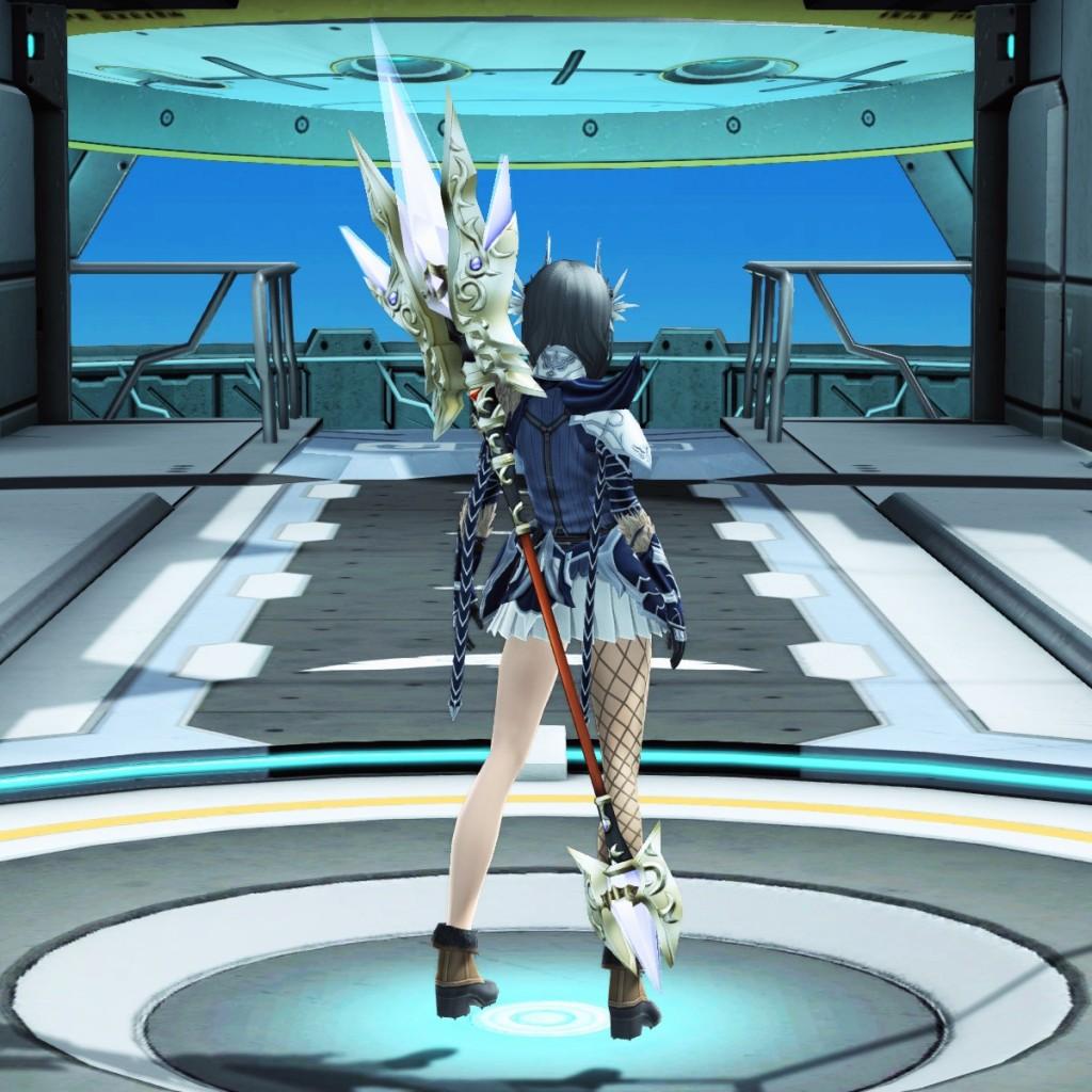 PSO2 Phantasy Star Online 2 MMORPG Sega Atlas Rod