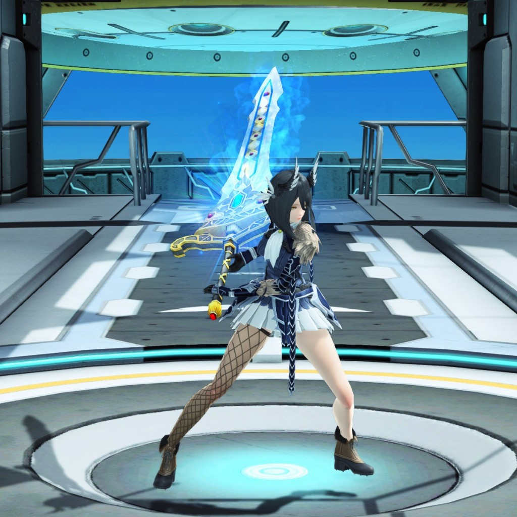 PSO2 Phantasy Star Online 2 MMORPG Sega Atlas Sword