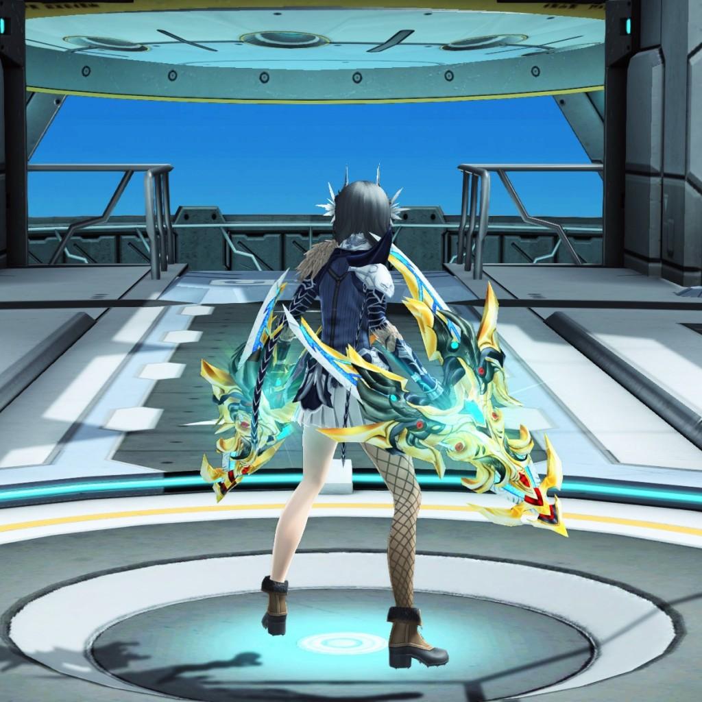 PSO2 Phantasy Star Online 2 MMORPG Sega Atlas Wired Lance