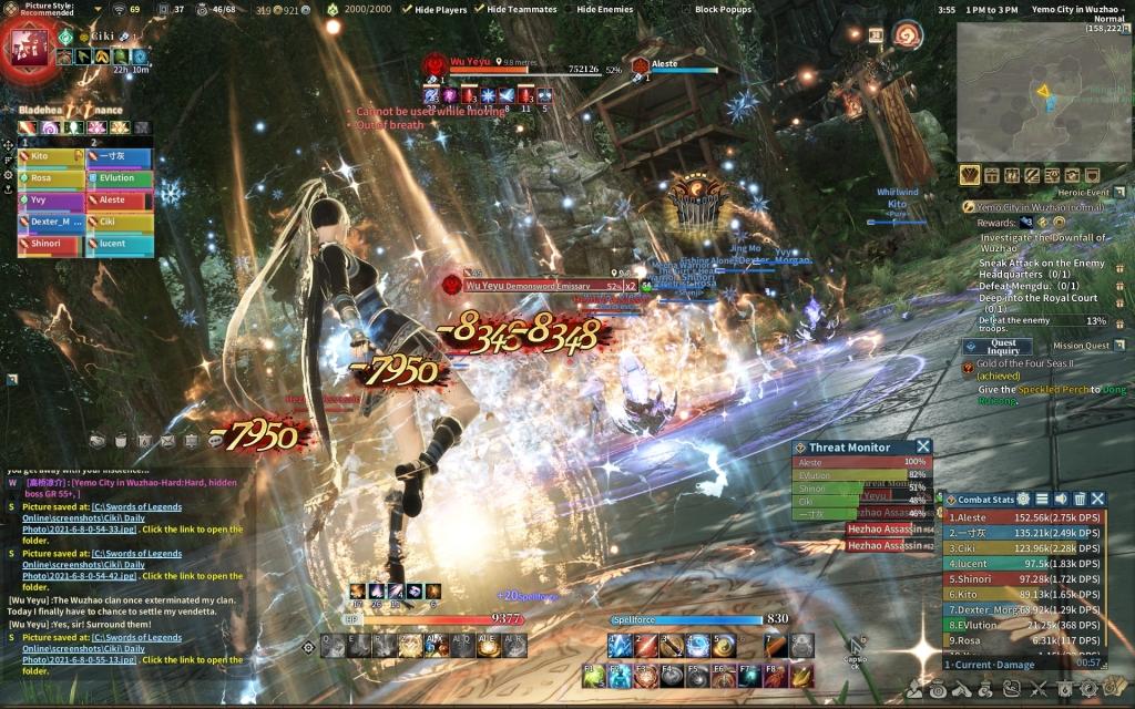 swords of legends online solo